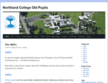 Tablet Preview of northlandcollegeoldpupils.co.nz